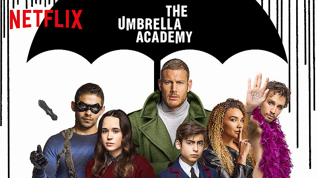 Poster di The Umbrella Academy di Netflix