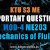 Mechanics of Fluids ME203 Important Questions | Module-4