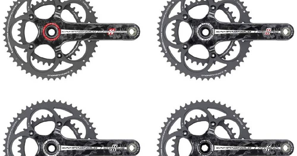Campagnolo amplia su gama de bielas ~ Ultimate Bikes Magazine