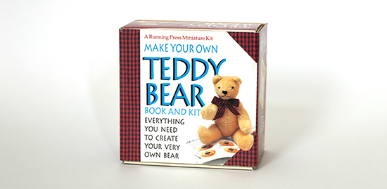 Box for Make Your Own Teddy Bear Kit