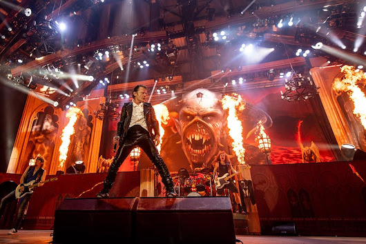 Fotos e setlist de nova turnê do Iron Maiden