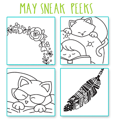 SNEAK PEEKS for MAY Release!! | Newton's Nook Designs #newtonsnook