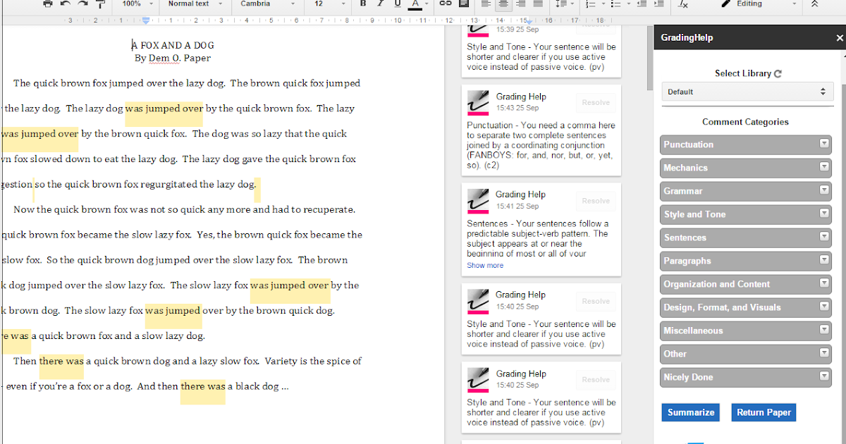3 Great Grading Add-ons for Google Docs