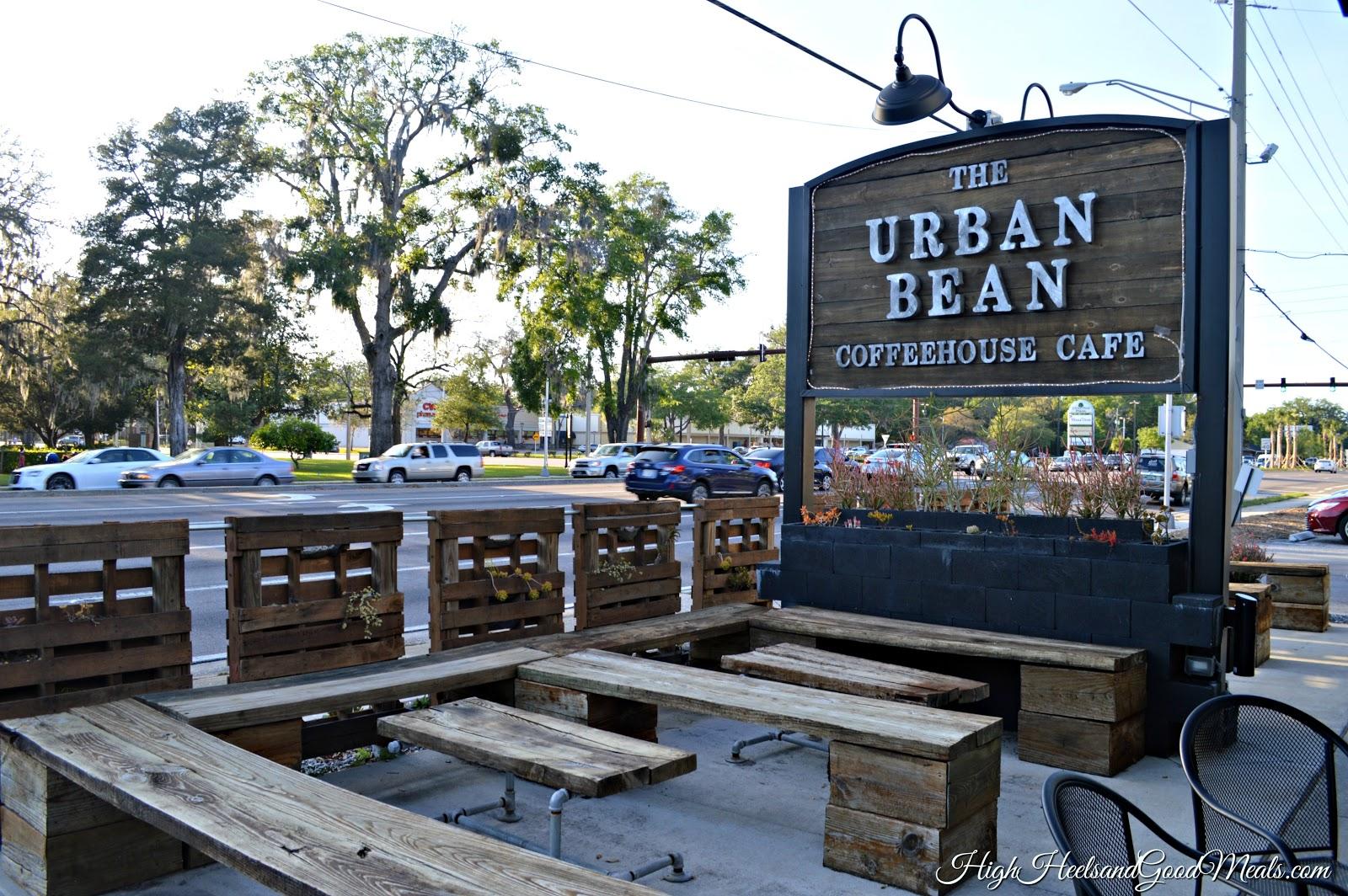 urban bean coffeehouse cafe high heels good meals