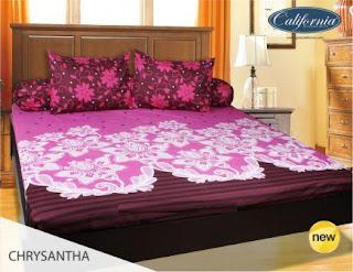 Sprei california motif Chrysantha