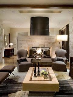 sala elegante colores neutros
