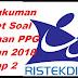 Download Rangkuman Paket Soal Latihan PPG Tahun 2018 Tahap 2 Lengkap