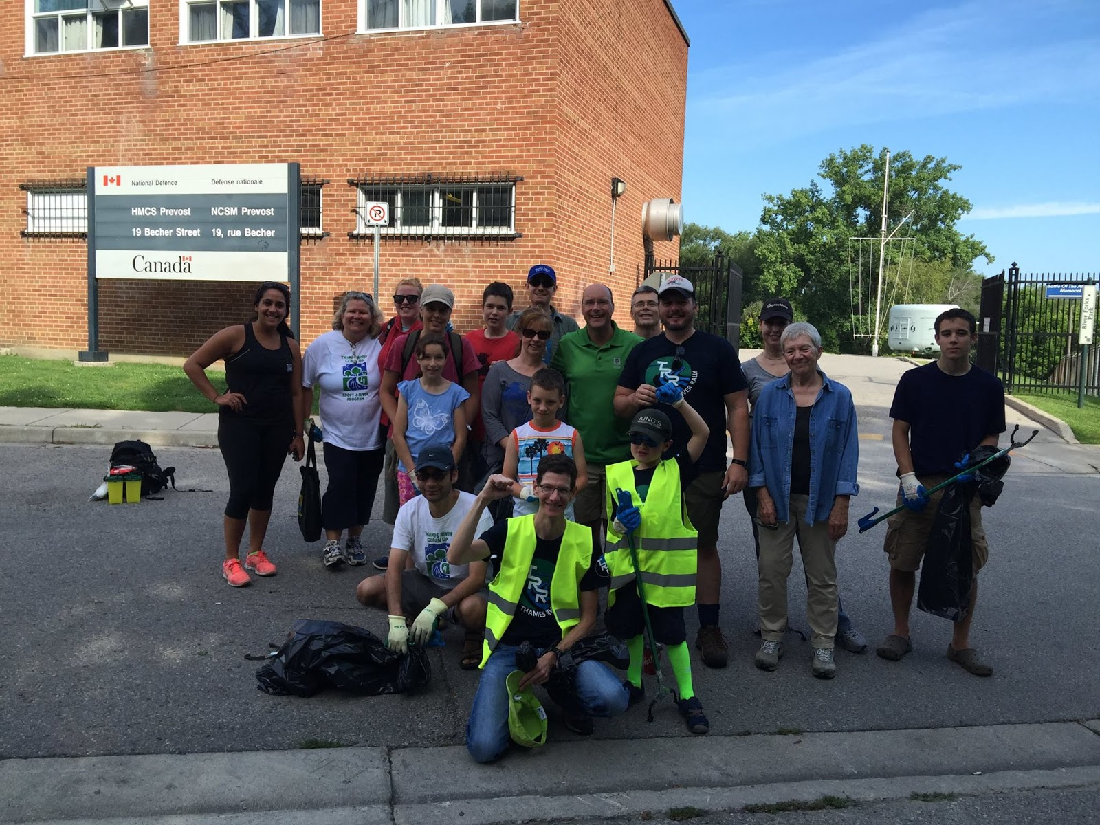 Antler River Rally: August 15th Cleanup With Help