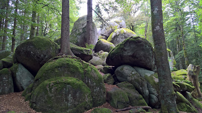 Günterfelsen - Gunter Rock formation
