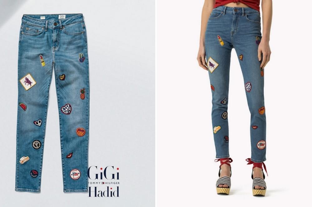 Skinny Fit Jeans von Gigi Hadid x Tommy Hilfiger