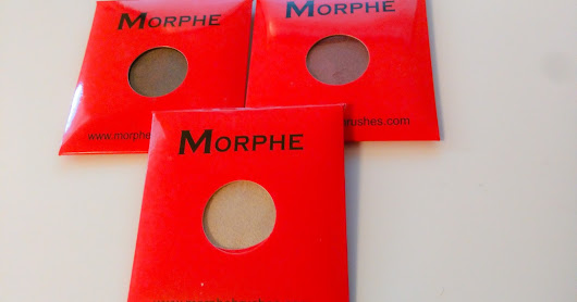 My trip to Morphe and their shadows
