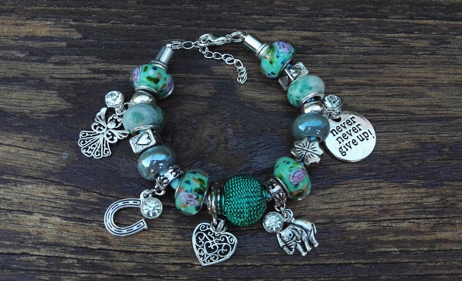 polska biżuteria autorska TopArt Jewelry, bransoletka charms, bransoletka modułowa
