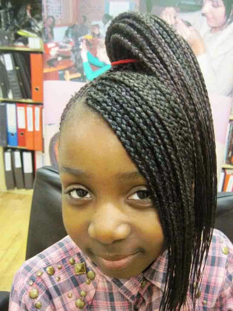 You Must See These Braided Hairstyles For Black Girls