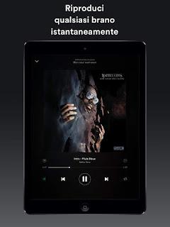 Spotify Music si aggiorna alla vers 8.4.9