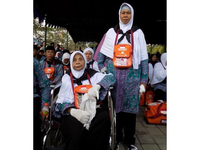 Enam Tahun Menabung, Wanita 119 Tahun Naik Haji