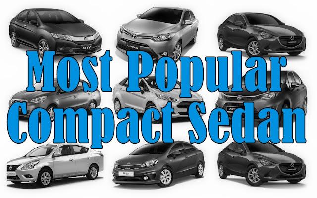 Kereta Compact Sedan Popular di Malaysia