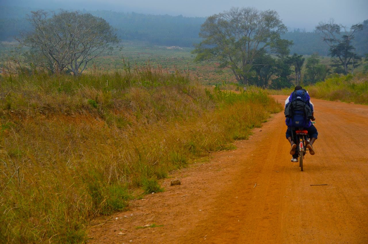 mount mulanje trekking bicycle taxi
