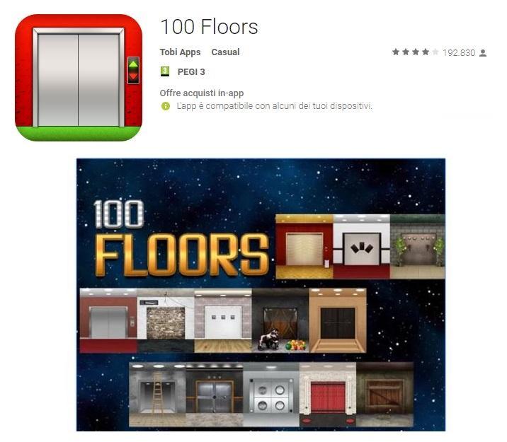 Soluzioni 100 Floors Livello 81 82 83 84 85 86 87 88 89 90