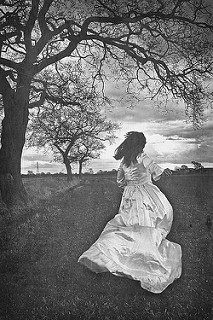 novia corriendo
