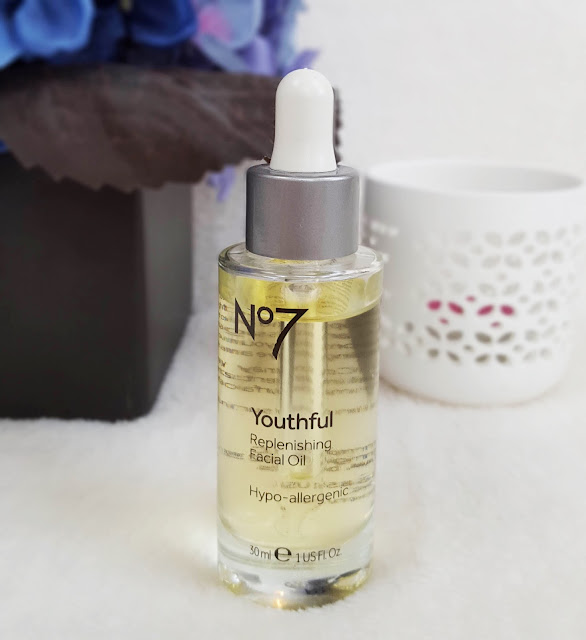 No7 Youthful Facial Oil