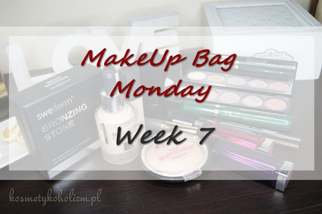 MakeUp Bag Monday - Week 7 - Swederm, Glam Shadows, Catrice, My Secret, Pierre Rene, Oriflame, Maybelline