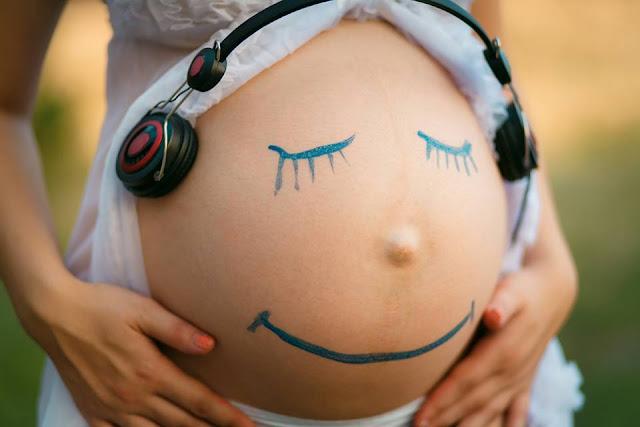 gravidez e música