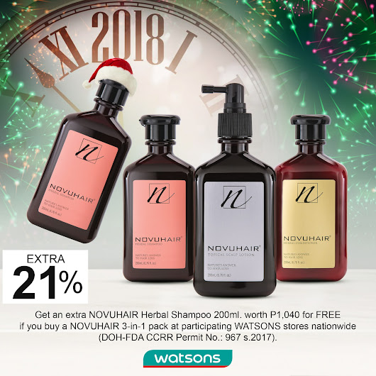 NOVUHAIR Turns Favor with Holiday Promo