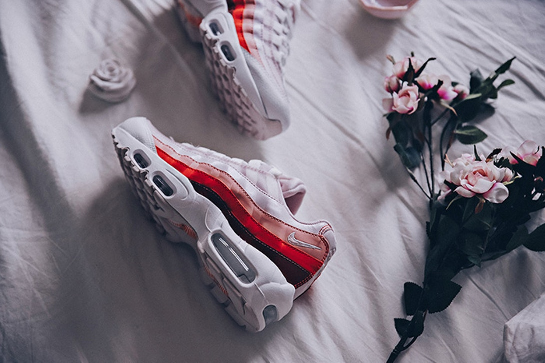 Nikes Air Max 95 Vintage Coral Planet Of The Sanquon