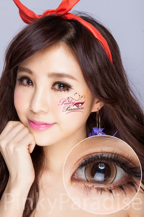 Princess Pinky Eclipse Brown Circle Lenses (Colored Contacts)