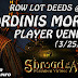 Oridinis Mortis Player Vendors, 400k Row Lot Deeds 💰 Shroud Of The Avatar (Market Watch)