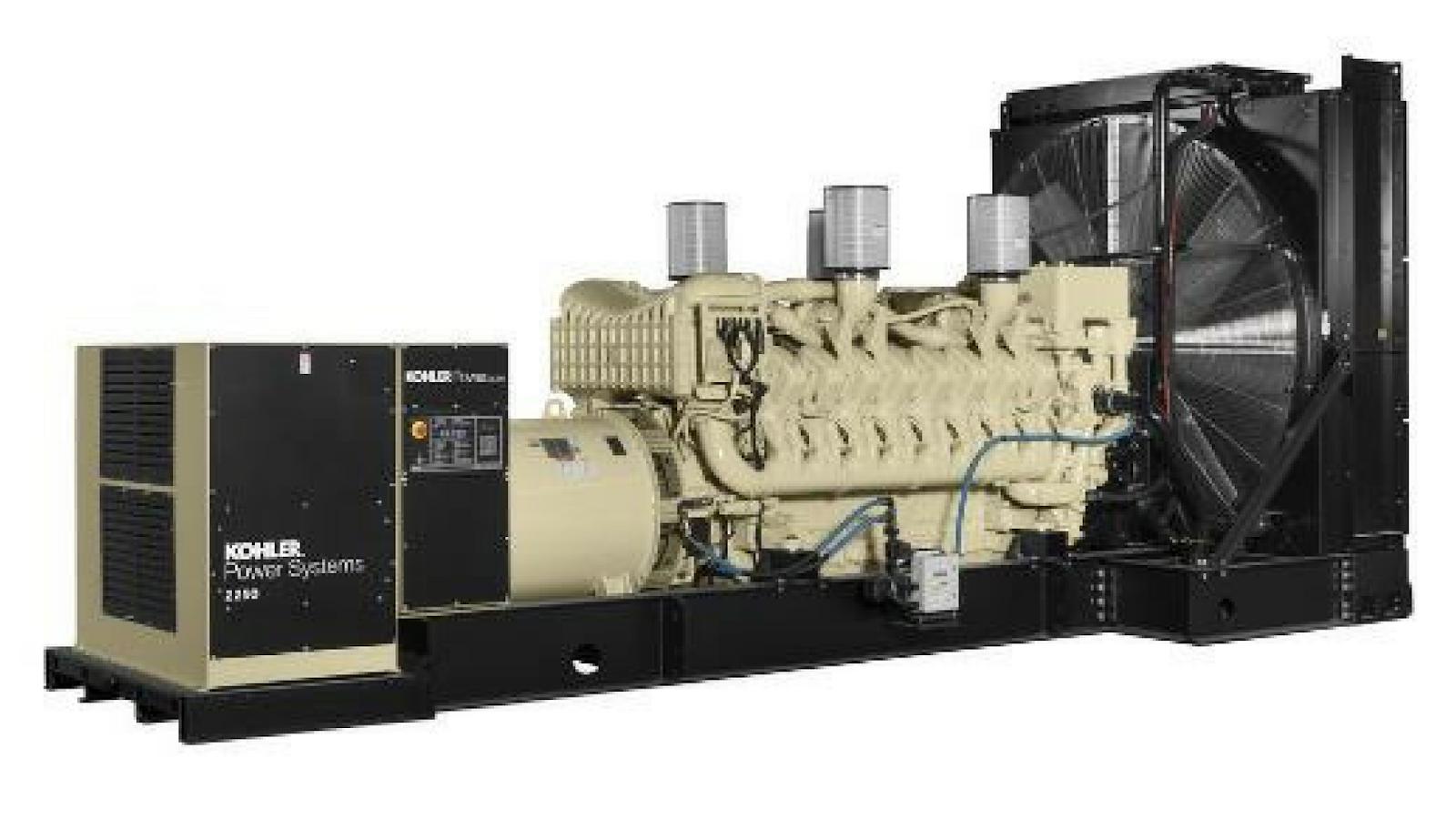 Generador eléctrico kolher (2000 kw)