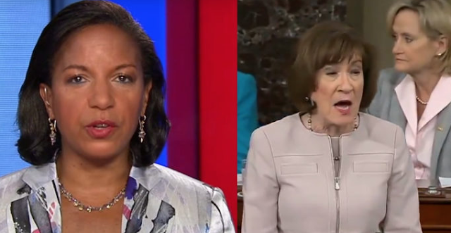 Susan Collins Comes Forward, Exposes Susan Rice As Absolute Fraud With One Sentence