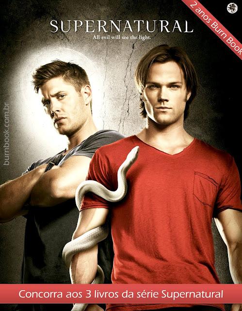 Promo: Kit 3 livros da série Supernatural #2AnosBurnBook 7