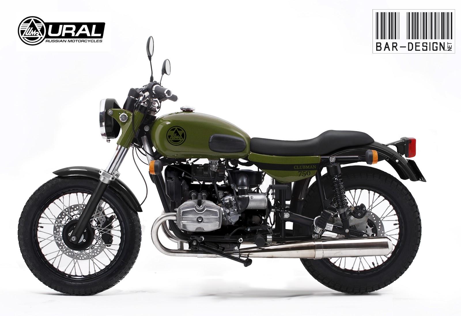 motorcycle 74 concept ural 650 solo by bar design. Black Bedroom Furniture Sets. Home Design Ideas
