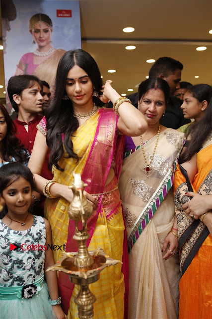 Actress Adah Sharma Launches Saree Niketan Showroom  0001.jpg