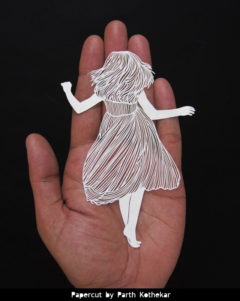 01-First-Dance-Parth-Kothekar-Beauty-and-Precision-in-Paper-Cut-Silhouettes-www-designstack-co