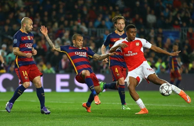 Iwobi Will Reject Barcelona Millions To Stay At Arsenal - Father