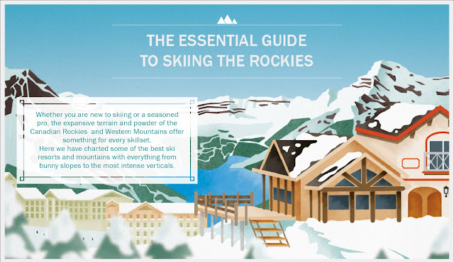 COOL CANADIAN INFOGRAPHIC: The Essential Guide to Skiing the Rockies
