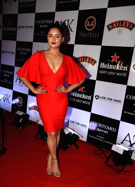 Actress Rashami Desai during a programme in Mumbai.jpg