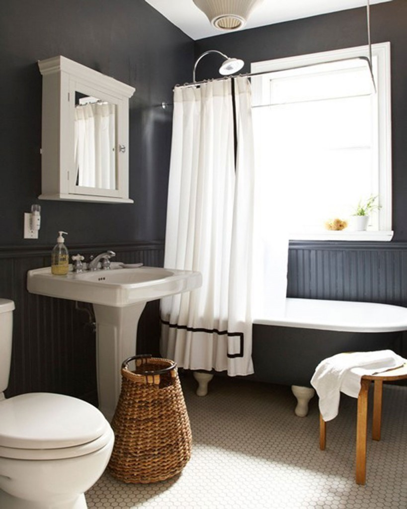 Home Priority: Black And White Bathroom Design To Get The Best ...