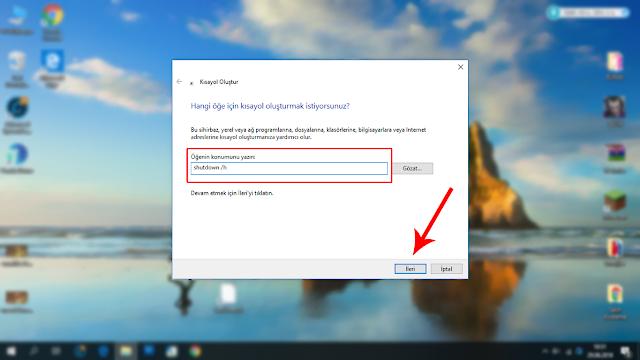 Windows Hazırda Beklet Açma
