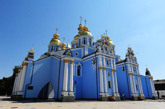 Kijev - kaj početi. cerkev sv. mihaela