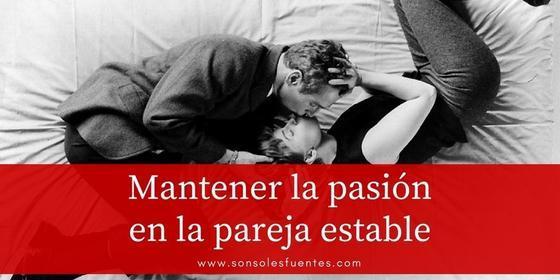 artículo Cómo mantener la pasión en la pareja estable