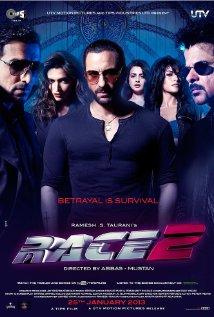 Race 2 (2013) - 720p DVDRip Free Download - x264 - AC3 - ESubs - 1GB