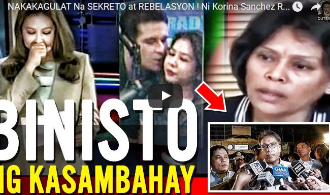 NAKAKAGULAT Na SEKRETO at REBELASYON ! Ni Korina Sanchez Roxas BINISTO Ng kanyang Kasambahay!