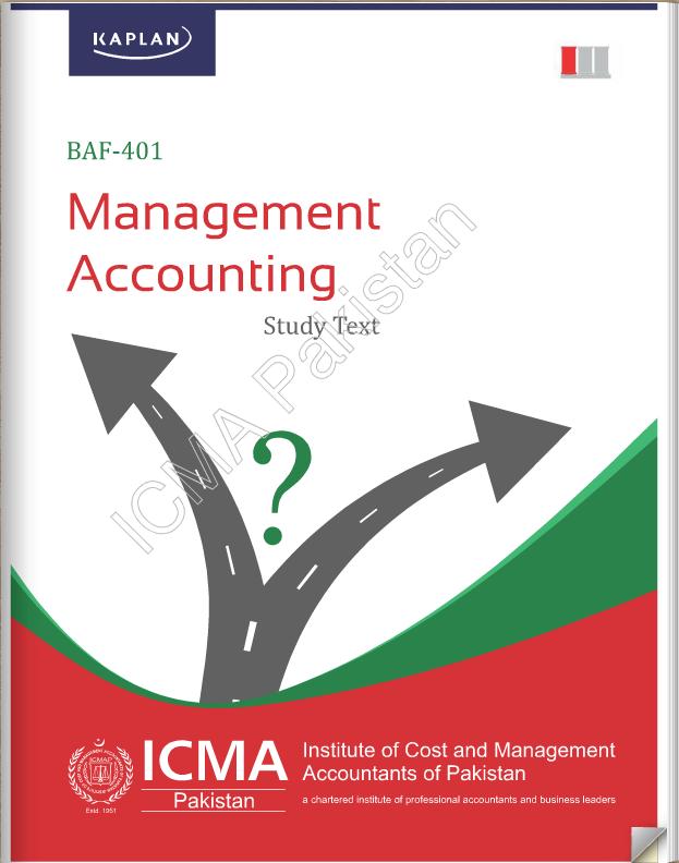 BAF-401: Management Accounting