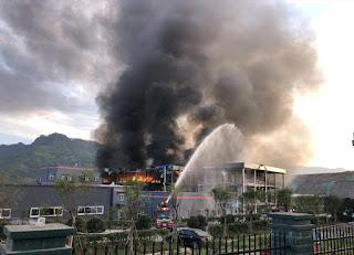 Blast in Sichuan