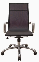 Woodstock Marketing Baez High Back Mesh Chair