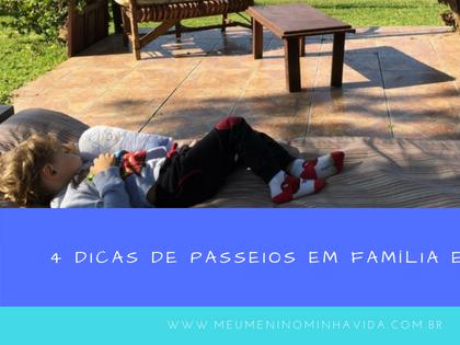 4 Dicas de passeios em família em Lages/SC e região