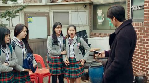 Screenshot Joon Jea With School Girls The Legend Of The Blu Sea (2016)  1080p Episode 11 - www.uchiha-uzuma.com